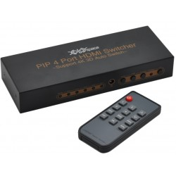 XOLORSpace HDMI Switch 4x1...